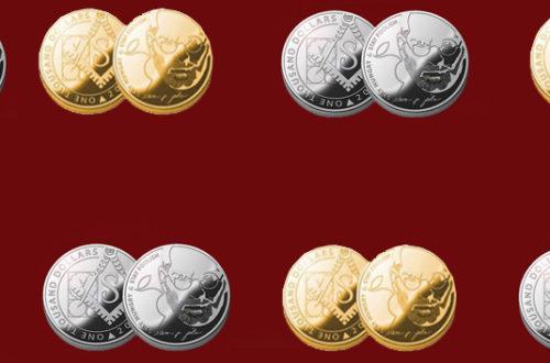 На Украине вышли монеты, посвященные масону Стиву Джобсу