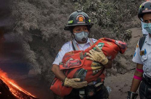 Пострадавшие от извержения вулкана в Гватемале получили помощь от масонов
